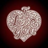 Iloveyou Stock Image