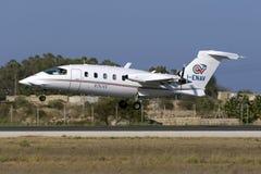 ILS calibrator aircraft Royalty Free Stock Photography