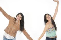 Ils se sentent heureux, frais et frais Photos libres de droits