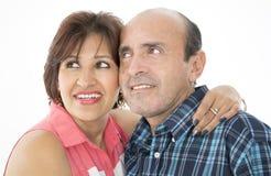 Ils sont un mariage heureux Photo stock