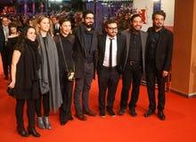 Ilse Salas, Алонсо Ruizpalacios, Bernardo Velasco и Leonardo Ortizgris стоковая фотография rf