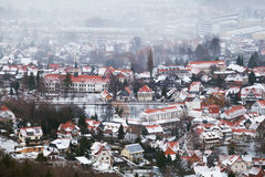 Ilsenburg city in Harz mountains Royalty Free Stock Photo
