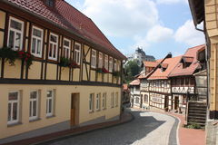 Ilsenburg e arredores Imagem de Stock