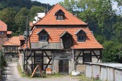 Ilsenburg e arredores Fotos de Stock Royalty Free