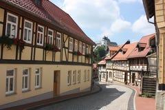 Ilsenburg en omgeving Stock Afbeelding