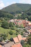 Ilsenburg en omgeving Royalty-vrije Stock Afbeelding