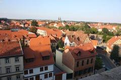 Ilsenburg et environs Photographie stock libre de droits