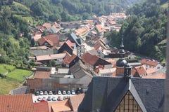 Ilsenburg and surroundings Stock Photo