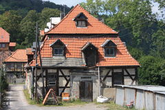 Ilsenburg and surroundings Royalty Free Stock Photos