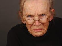 ilsken kvinna Royaltyfria Foton