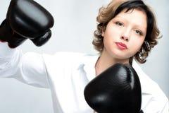 ilsken kvinna Fotografering för Bildbyråer
