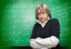Ilsken lärare Royaltyfria Foton
