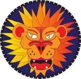 Ilsken lionhead Arkivfoto