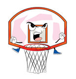 Ilsken tecknad film för basketbeslag Royaltyfria Foton