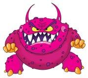 ilsket monster royaltyfri illustrationer