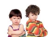 ilskna ungar två fotografering för bildbyråer