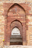 Iltutmish tomb in the complex of Qutub Minar with intricate design and calligraphy Stock Photos