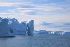 Ilulissat do Fiord Fotografia de Stock