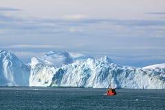 Ilulissat fiord Stock Foto's
