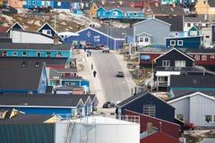Ilulissat, Groenland Stock Afbeelding