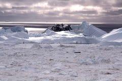 Ilulissat Icefjord Grönland Royaltyfri Fotografi