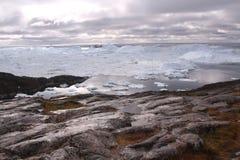 Ilulissat Icefjord Grönland Arkivfoto