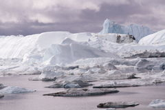 Ilulissat Icefjord Grönland Royaltyfri Foto