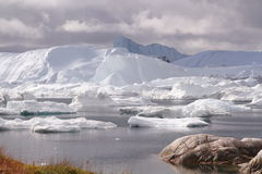 Ilulissat Icefjord Grönland Royaltyfri Bild