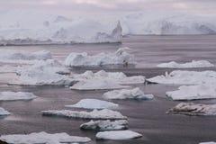 Ilulissat Icefjord Grönland Royaltyfria Bilder