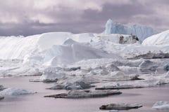 Ilulissat Icefjord Groenland royalty-vrije stock foto