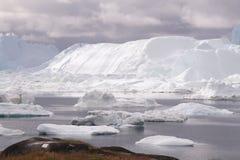 Ilulissat Icefjord Groenlandia fotografia stock libera da diritti