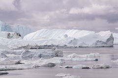 Ilulissat Icefjord Groenlandia fotografia stock
