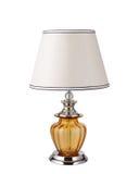 Iluminação ambarina luxuosa da mesa fotos de stock