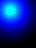 Iluminação azul abstrata, conceito claro mágico, fotos de stock royalty free
