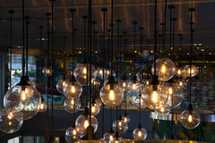 Iluminação bonita fotografia de stock