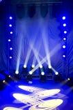 Iluminação bonita do estágio Fotos de Stock Royalty Free