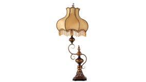 Iluminação clássica luxuosa da mesa da arte imagens de stock
