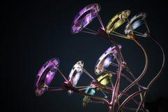 Iluminação colorida 001-130508 Imagens de Stock
