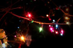 Iluminação colorida Imagens de Stock Royalty Free