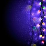 Iluminação da cor Fotografia de Stock