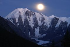 Iluminação da lua Imagem de Stock Royalty Free