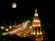 Iluminação da noite Fotos de Stock Royalty Free