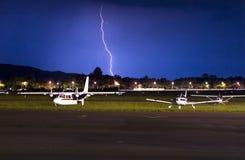 Iluminação de Cessna Fotos de Stock
