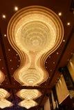 Iluminação de cristal gigante foto de stock royalty free