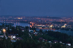 Iluminação de noite Imagem de Stock Royalty Free