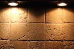 Iluminação de Splashback Fotografia de Stock Royalty Free