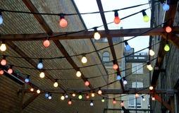 Iluminação decorativa Fotos de Stock Royalty Free