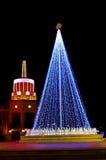 Iluminação do ano novo imagem de stock royalty free