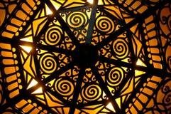 Iluminação do art deco Fotografia de Stock Royalty Free
