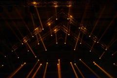 iluminação do concerto imagens de stock royalty free